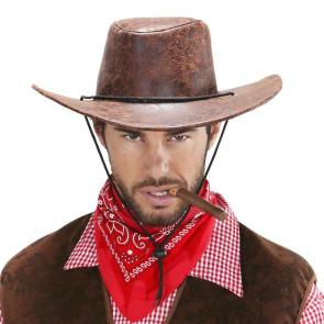 Western Cowboy Hut Leder Imitat Hut Cowboy
