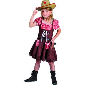 Cowgirl Kinderkostüm 104, 116, 128, 140