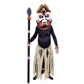 Zulu Afrikaner Krieger
