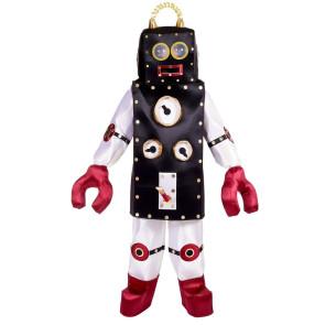 Roboter Kostüm Retro Design Roboterkostüm
