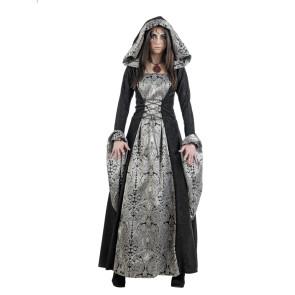 Hexe Gundula Kostüm in schwarz