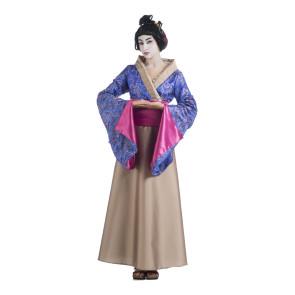 Geisha im pinken Traumkleid