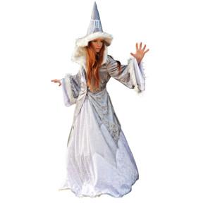 Edelhexe in weiß - Zauberin