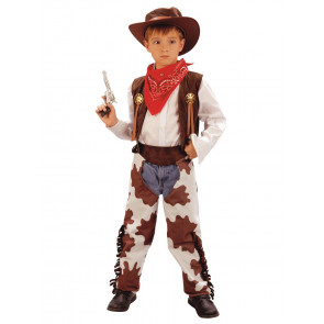Faschingskostüm Kinder Cowboy Gr. 122/128