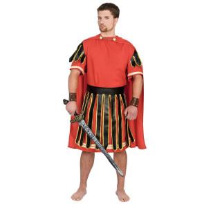 Römer als Zenturio im Faschingskostüm