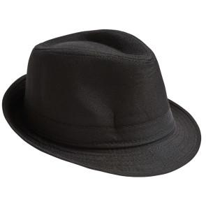 Fedora Hut uni schwarz