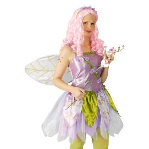 Feen und Elfenn Kostüm lila flieder violett