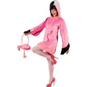 Flamingo Kleid Damen