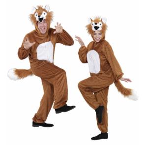 Karneval Fuchs Kostüm für Erwachsene Damen oder Herren