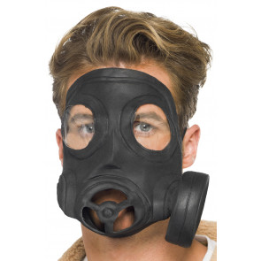 Gasmaske schwarz