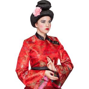 Geisha mit Blume