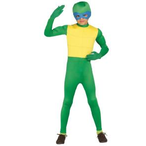 Ninjakostüm in grün für Kinder