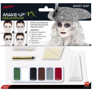 Foto Verpackung Grusel Make-up Set für Geister Piratin
