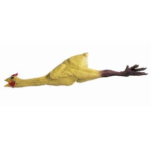 Gummihuhn authentisch gelb mit Krallen