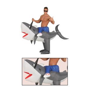 Hai Kostüm aufblasbar Huckeback