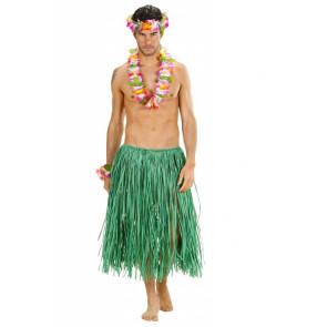Hawaii Rock in Bast grün für Damen und Herren