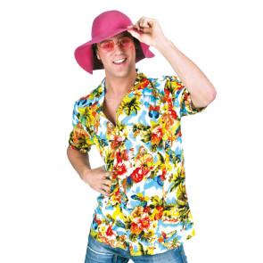 Buntes Hawaii Hemd für Herren mit Blumenmuster