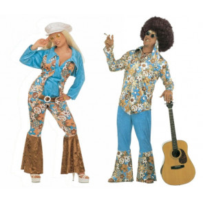 XXL Karnevalskostüm für Hippie Paare