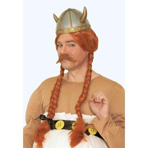 Hörner Helm wie Obelix der Gallier