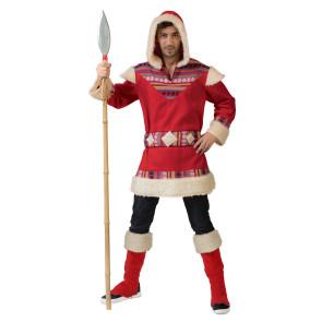 Ausgefallens Kostüm als Inuit / Eskimo Männer