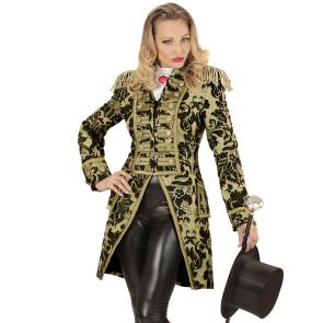 Jacquard Dame – gold Frack Jacket hochwertig