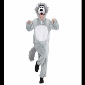 Wolfsfrau Plüschkostüm Wolf