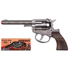 Kinder Colt Western Revolver Metall