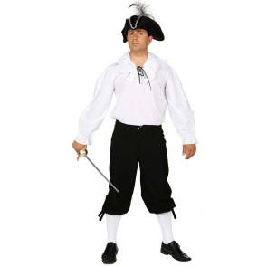 Kniebundhose schwarz für Kostüme