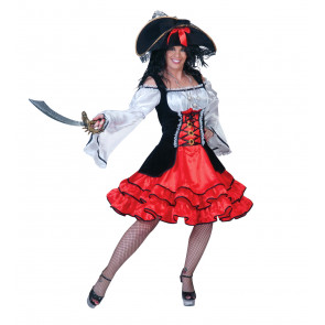 Fasnachtkostüm Piratin