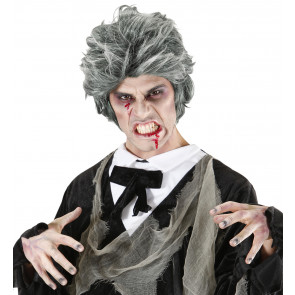 Kostümperücke Untoter, Vampir