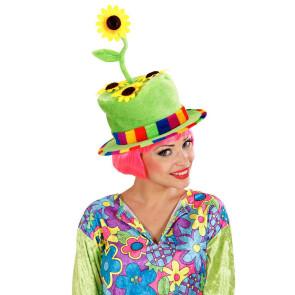 Lustiger Gras und Garten Hut Fasching Karneval
