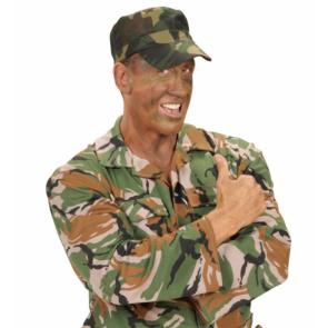 Camouflage Tarnmuster Militär Mütze
