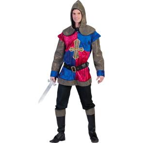 Mittelalter Krieger Kostüm für Karneval