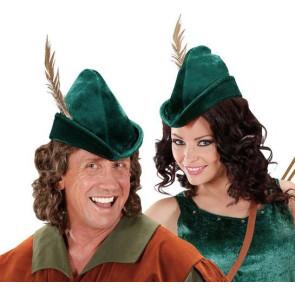 Robin Hood Hut. Mütze Waldläufer und Rumpelstilzchen