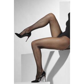 Netzstrumpfhose schwarz kleinmaschig Damenstrumpfhose