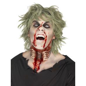 Fleischwund Hals Zombieeffekt