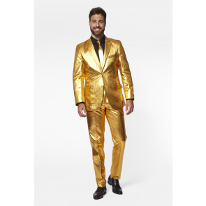 Anzug Gold Herren