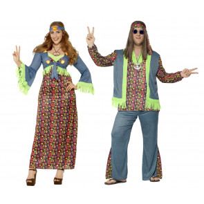 Hippie Paar Flora