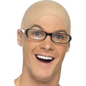 Latex Glatze Eierkopf Perücke