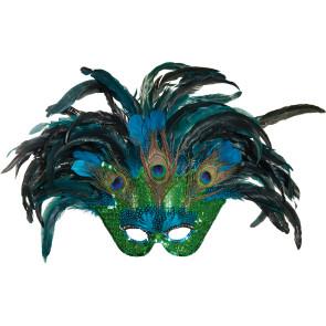 Vogel Feder-Maske