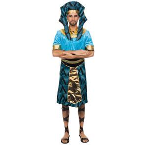 Mann als Ägypter in Pharao Kostüm