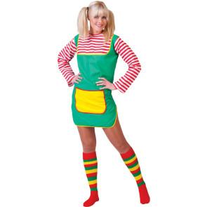 Pippie Kostüm Damen ohne Langstrumpf