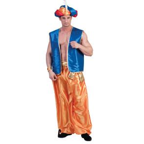 Pluderhose Aladin in gold gelb für Herren