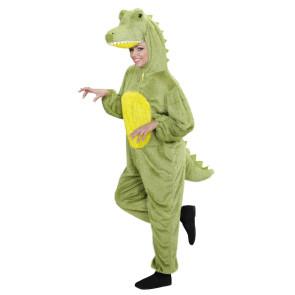 Damen im Krokodilskostüm Overall
