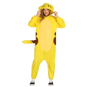 Chinchilla Pyjama Schnitt Pokemon onesie