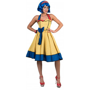 Pop Art Kostüm ausgefallen der 50er