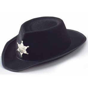 Bild von Prärie Hut schwarz