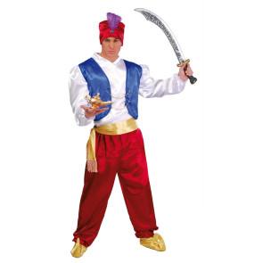 Orientalisches Kostüm für Herren 4-Teilig komplett