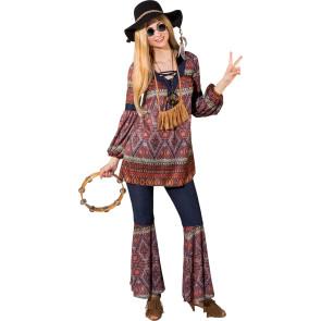 Retro 70er Stil Hippie