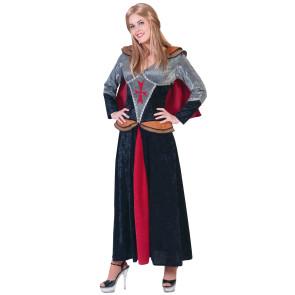 Opulentes Rittersfrau Damenkostüm Mittelalter